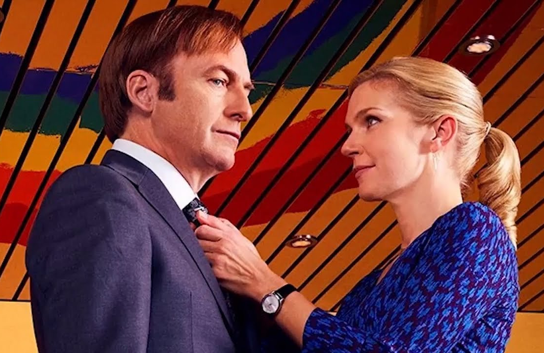 Bob Odenkirk and Rhea Seehorn in Better Call Saul. (AMC)
