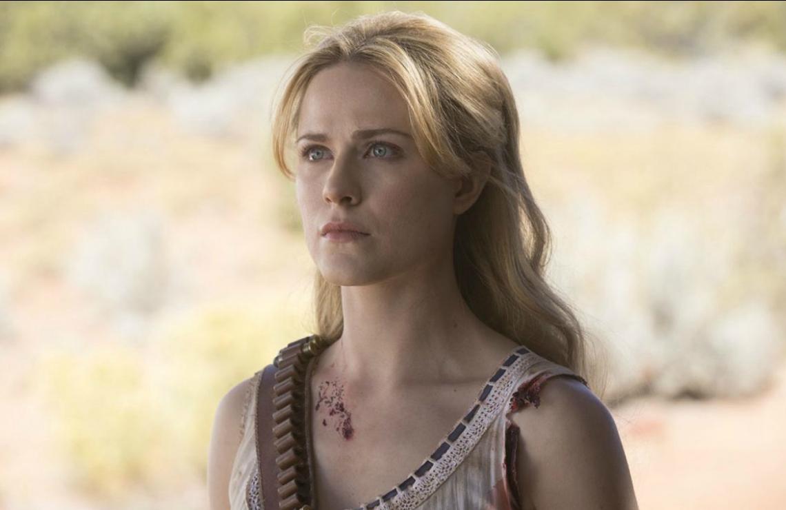 Evan Rachel Wood in Westworld. (Photo: HBO)