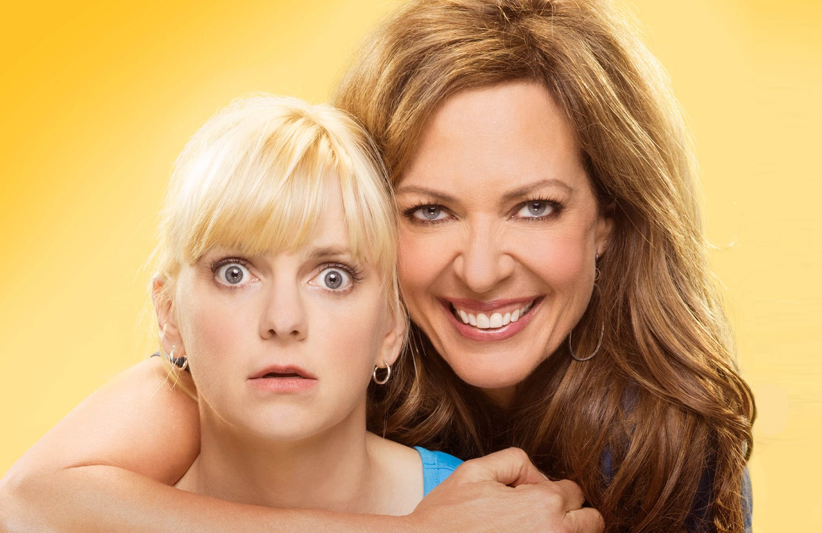 Anna Faris and Allison Janney in Mom. (CBS)
