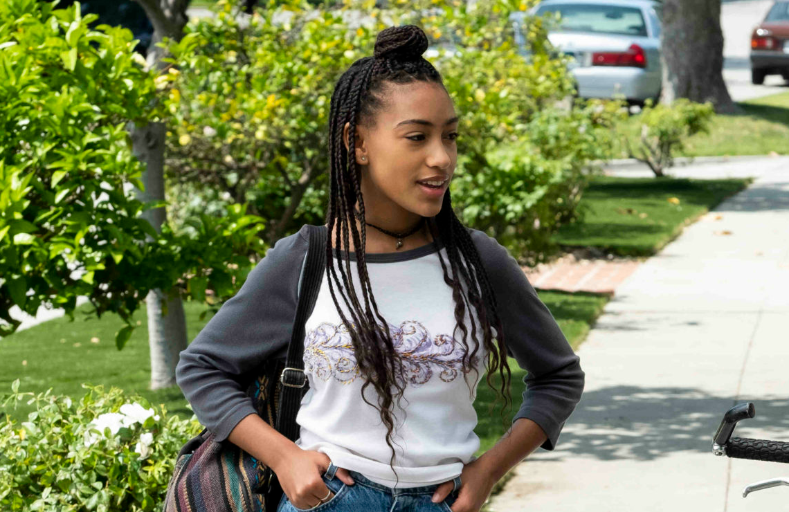 Lexi Underwood in Little Fires Everywhere. (Photo: Hulu)