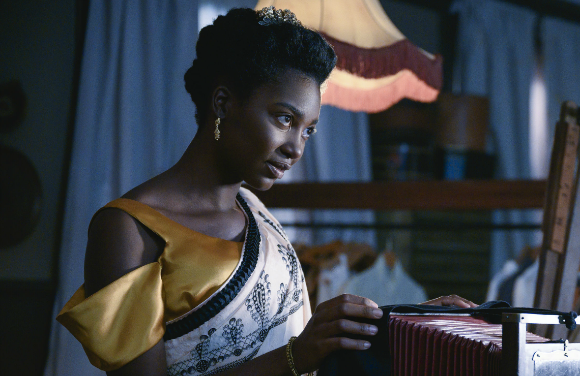Mouna Traoré in Self Made. (Photo: Netflix)