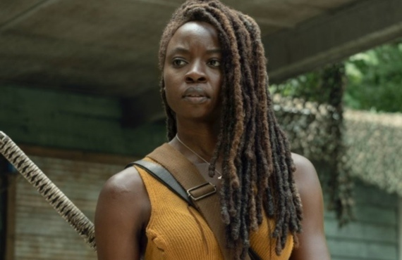 Danai Gurira in The Walking Dead (AMC)