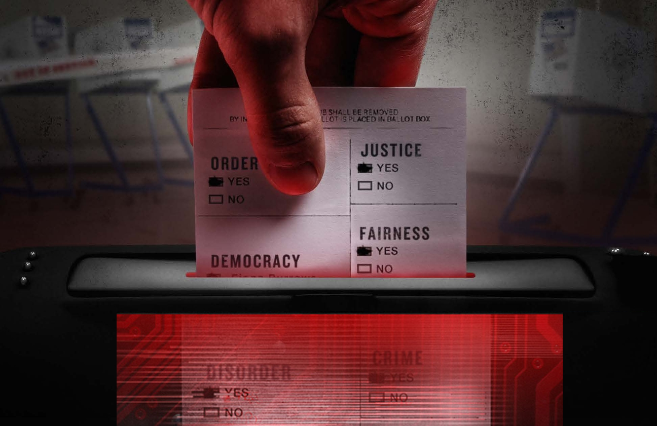 Kill Chain: The Cyber War On America's Elections. (Image courtesy of HBO)