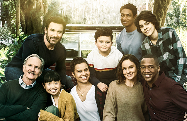 The cast of Council of Dads (NBC)