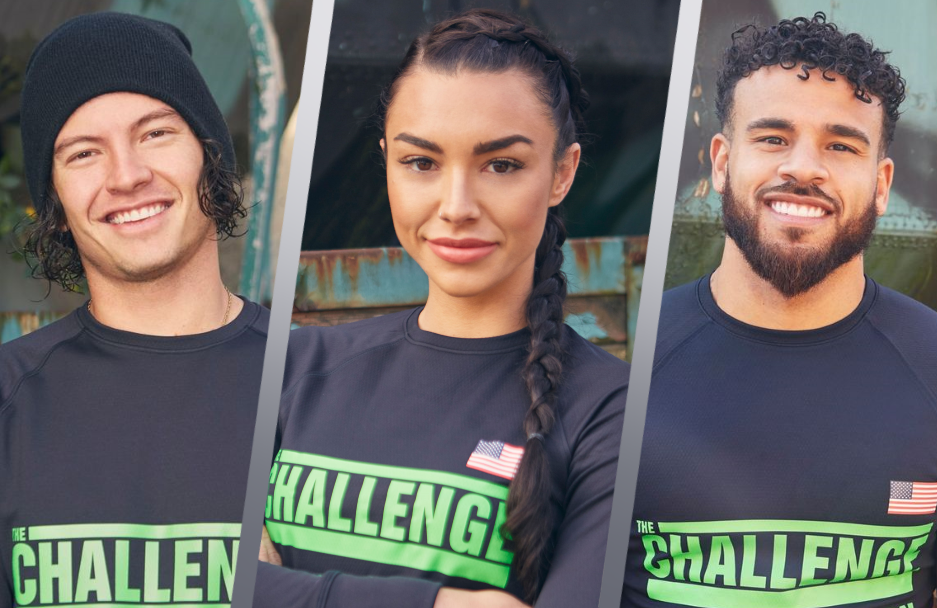 Jay Starrett, Kailah Casillas and Cory Wharton are among the 28 competitors in The Challenge: Total Madness. (MTV)