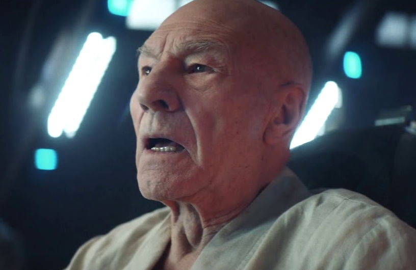 Patrick Stewart in Star Trek: Picard. (CBS All Access)