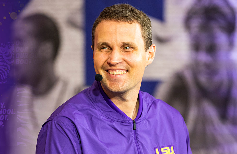 LSU coach Will Wade (above) is one of several big-name coaches whose wiretapped phone conversations will be heard publicly for the first time in HBO's The Scheme.
