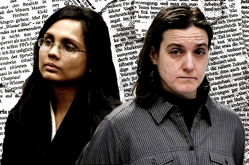 Annie Dookhan and Sonja Farak, the two lab techs at the center of How To Fix A Drug Scandal. (Netflix)