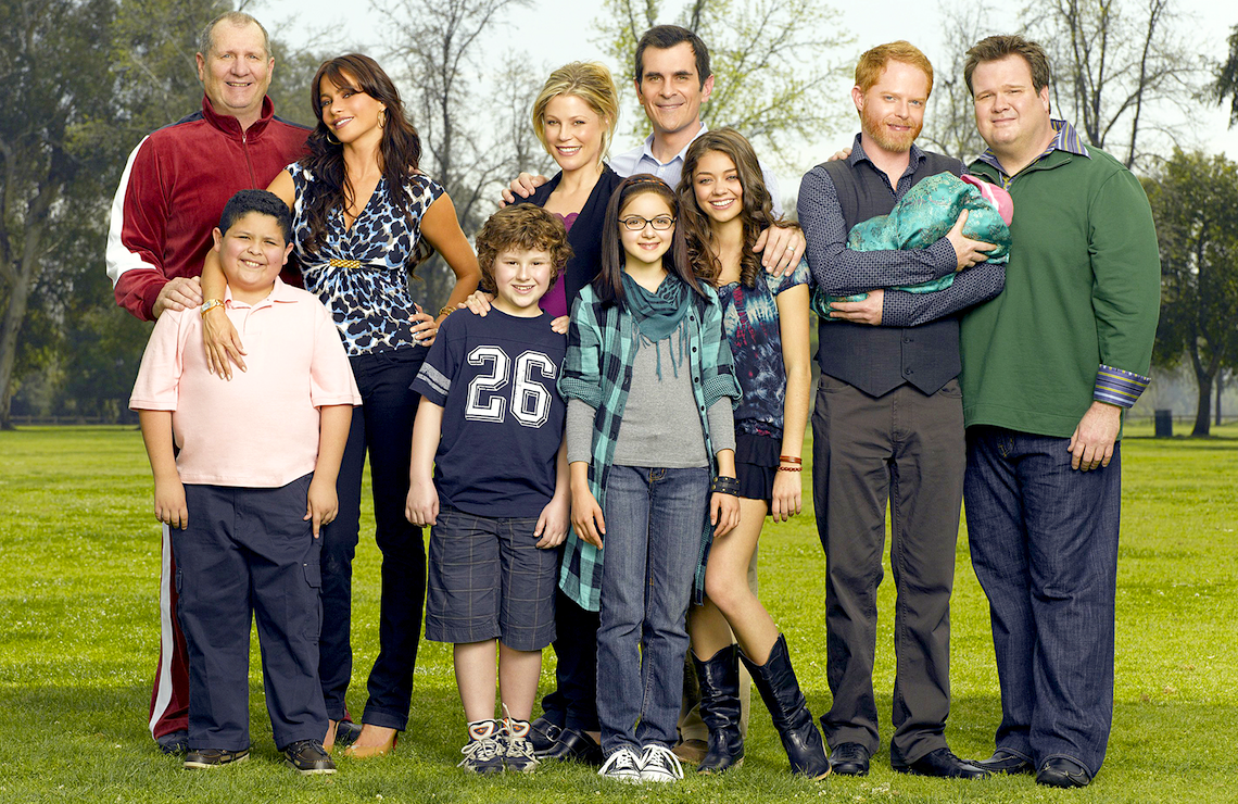 The Modern Family cast, circa 2009 (ABC)