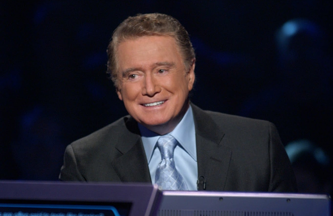 Regis Philbin hosted the original primetime Who Wants to Be A Millionaire from 1999-2002. (ABC)