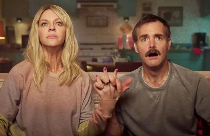 Kaitlin Olson and Will Forte star in Flipped, one of 24 original shows and movies in Quibi's launch slate. (Photo:Quibi)