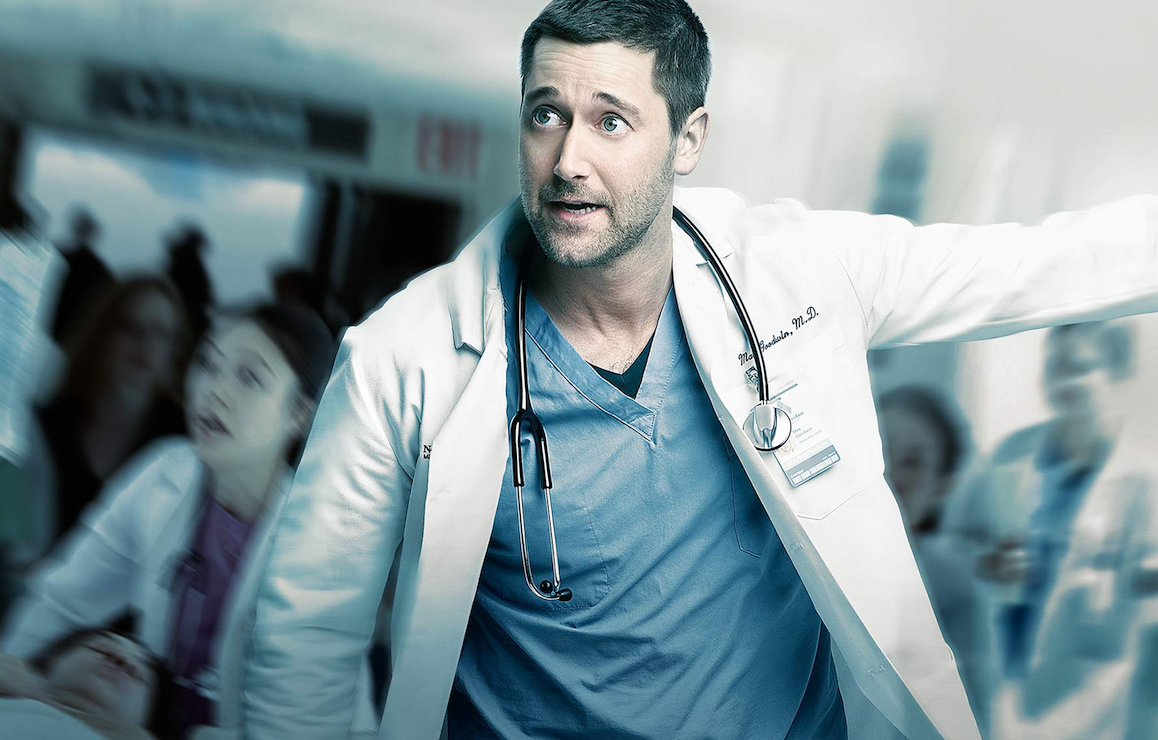 Ryan Eggold stars as Dr. Max Goodwin in New Amsterdam. (NBC)
