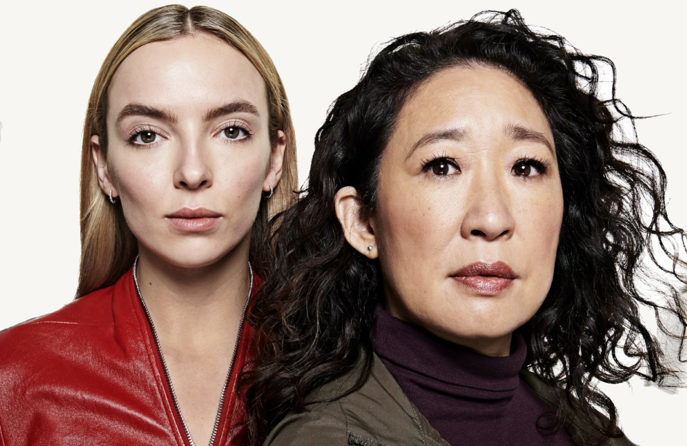 Jodie Comer and Sandra Oh in Killing Eve. (BBC America)