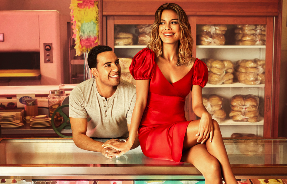 Victor Rasuk and Nathalie Kelley star in The Baker and the Beauty. (Photo: ABC/Nino Munoz)