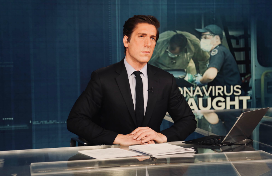 David Muir on World News Tonight. (ABC)