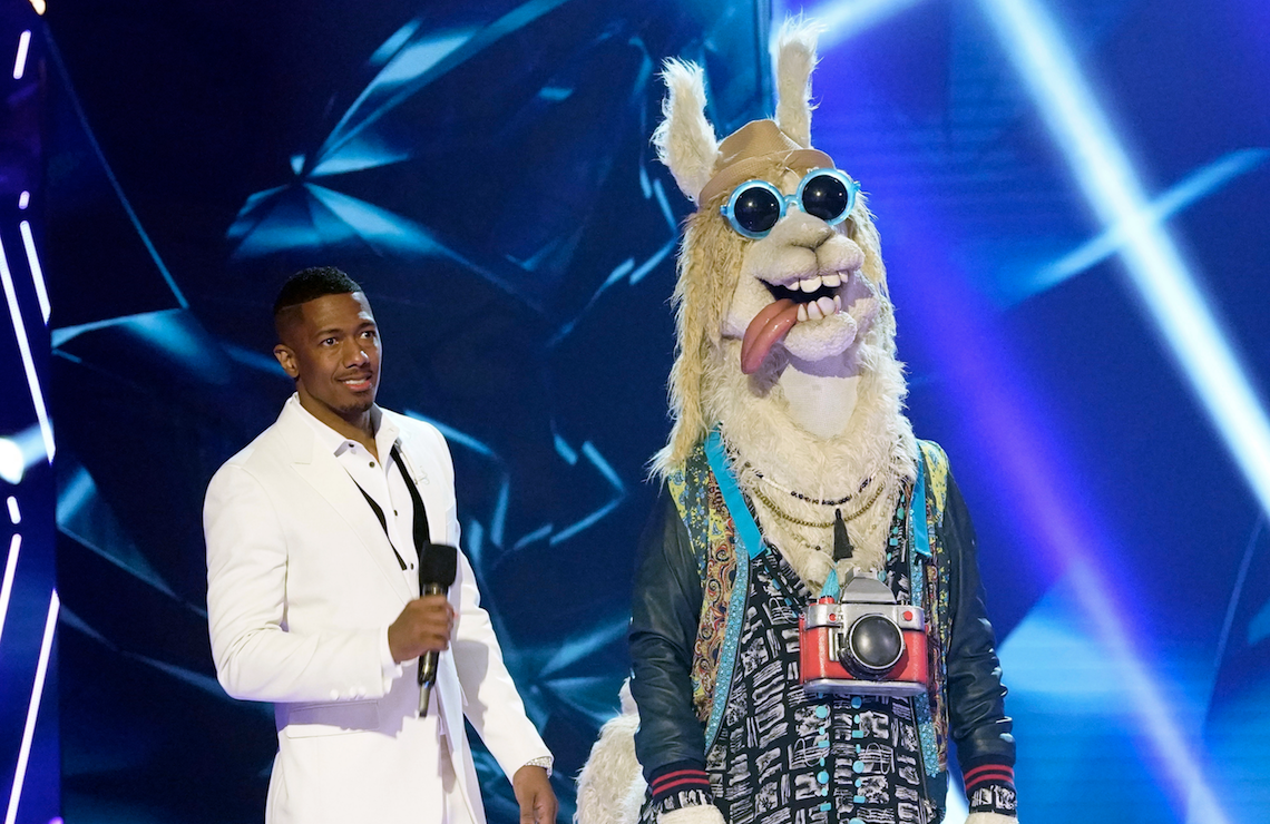 Nick Cannon hosts The Masked Singer: After the Mask. (Fox)
