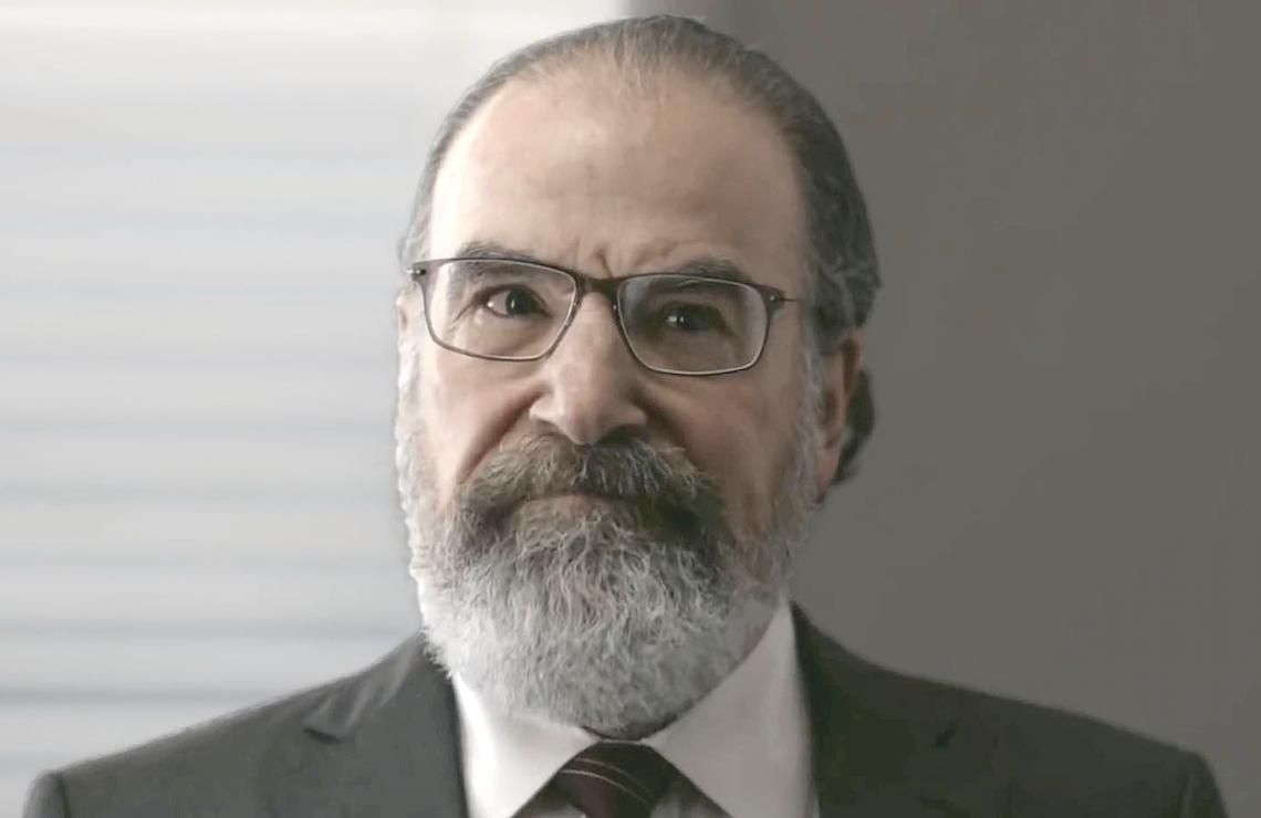 Mandy Patinkin as Saul Berenson in Homeland. (Showtime)