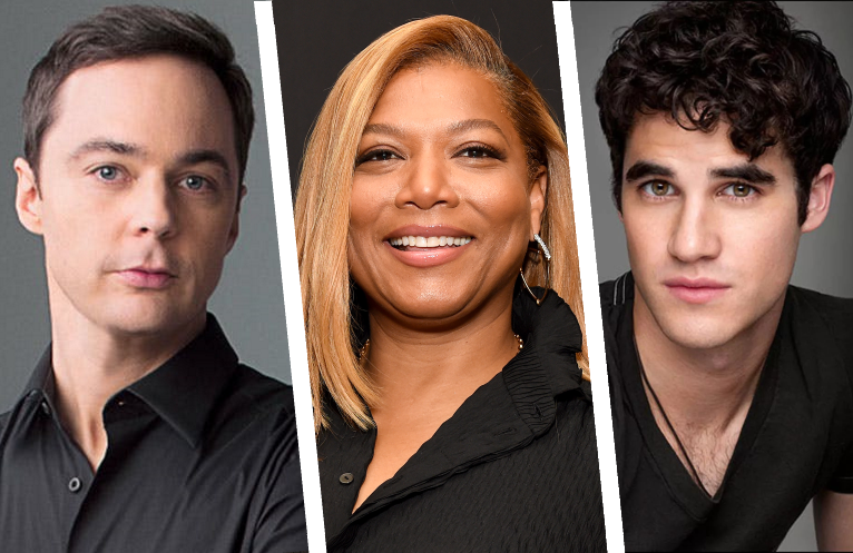 Jim Parsons, Queen Latifah and Darren Criss are among the recognizable faces inHollywood. (Netflix)