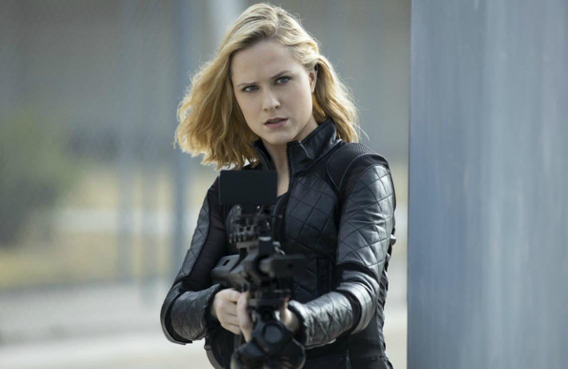 Evan Rachel Wood in Westworld. (HBO)