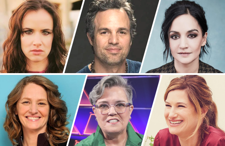 Juliette Lewis, Mark Ruffalo, Archie Panjabi, Melissa Leo, Rosie O'Donnell and Kathryn Hahn are among the stars in HBO's I Know This Much is True.