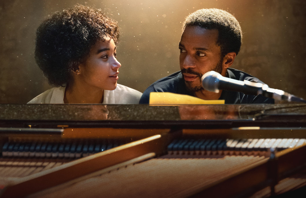 Amandla Stenberg and Andre Holland in The Eddy. (Netflix)