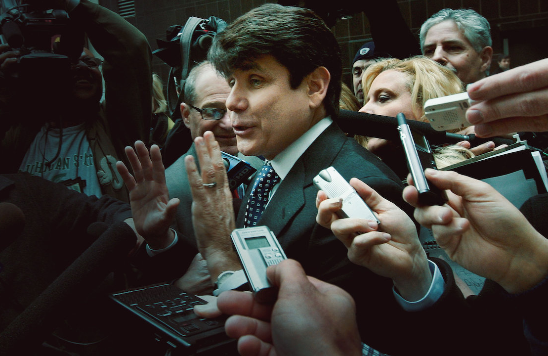 Trial by Media tackles the Rod Blagojevich affair in episode six. (Netflix)