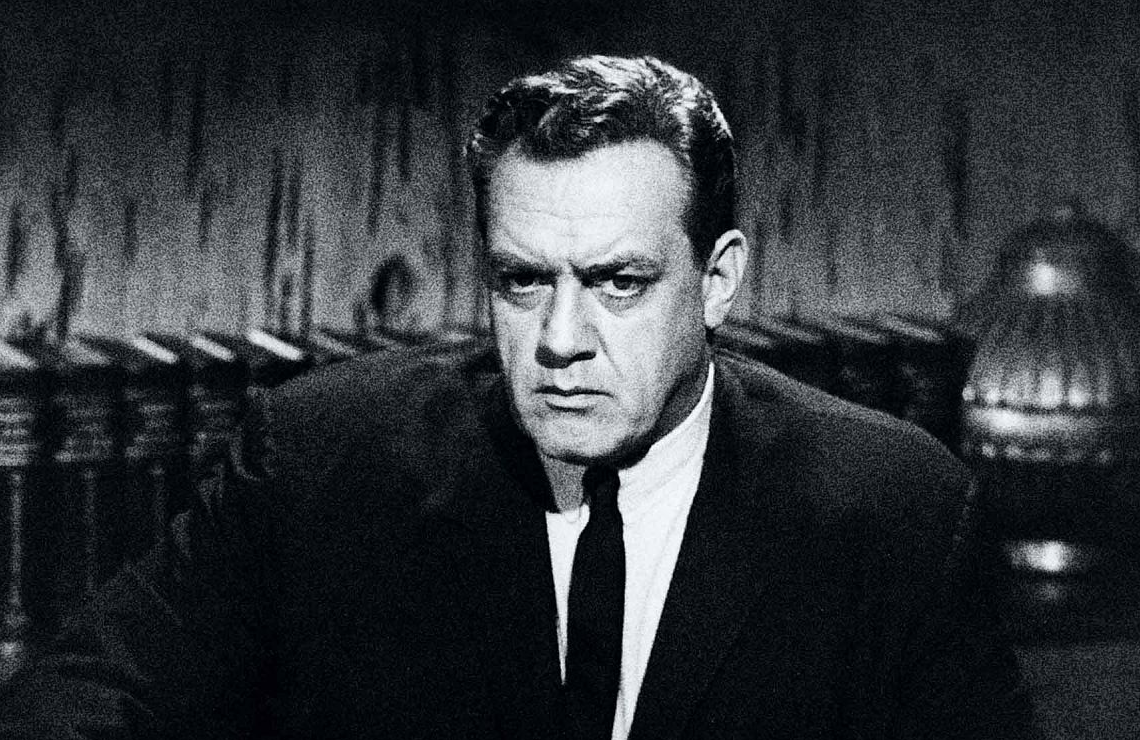 Raymond Burr in Perry Mason. (Photo: CBS)