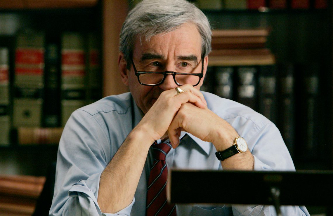 Sam Waterston in Law & Order. (Photo: NBC)