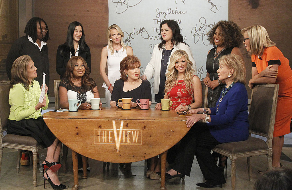 The View cast members past and present. (Photo: ABC)