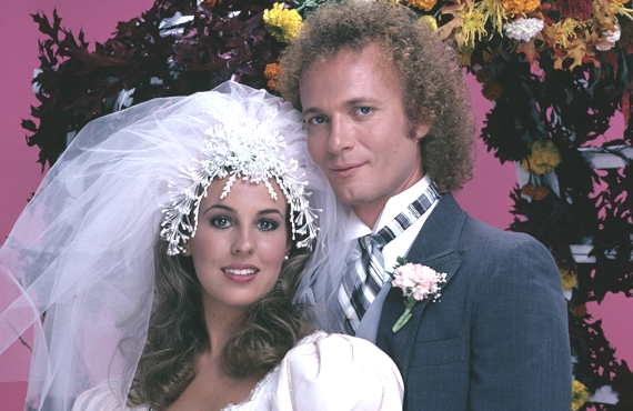 Genie Francis and Anthony Geary in General Hospital. (ABC)