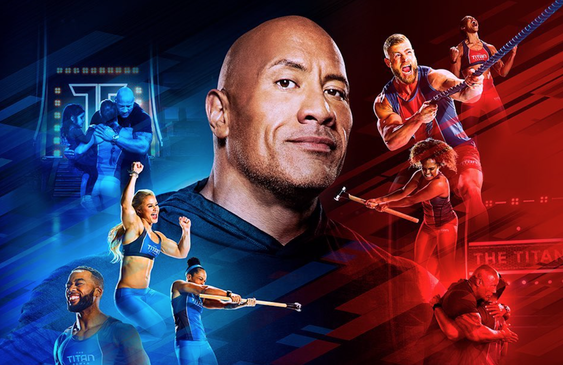 Dwayne Johnson Hosts The Titan Games. (NBC)