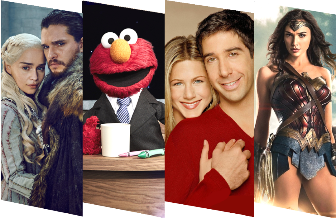 In addition to original programs like The Not Too Late Show with Elmo, HBO Max will be home to Warner Bros vast TV and movie catalog, including Game of Thrones, Friends and Wonder Woman.