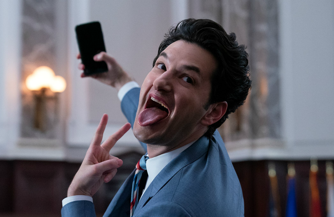 Ben Schwartz in Space Force. (Netflix)