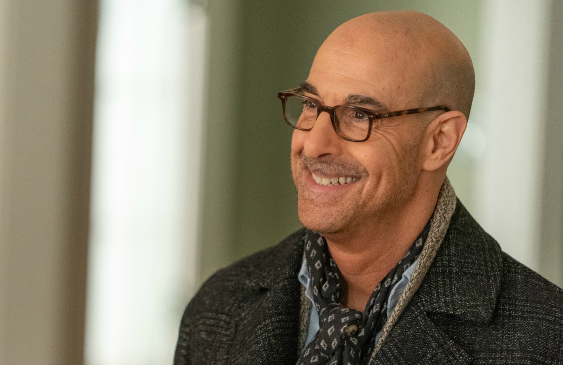 Stanley Tucci in Limetown. (Facebook Watch)