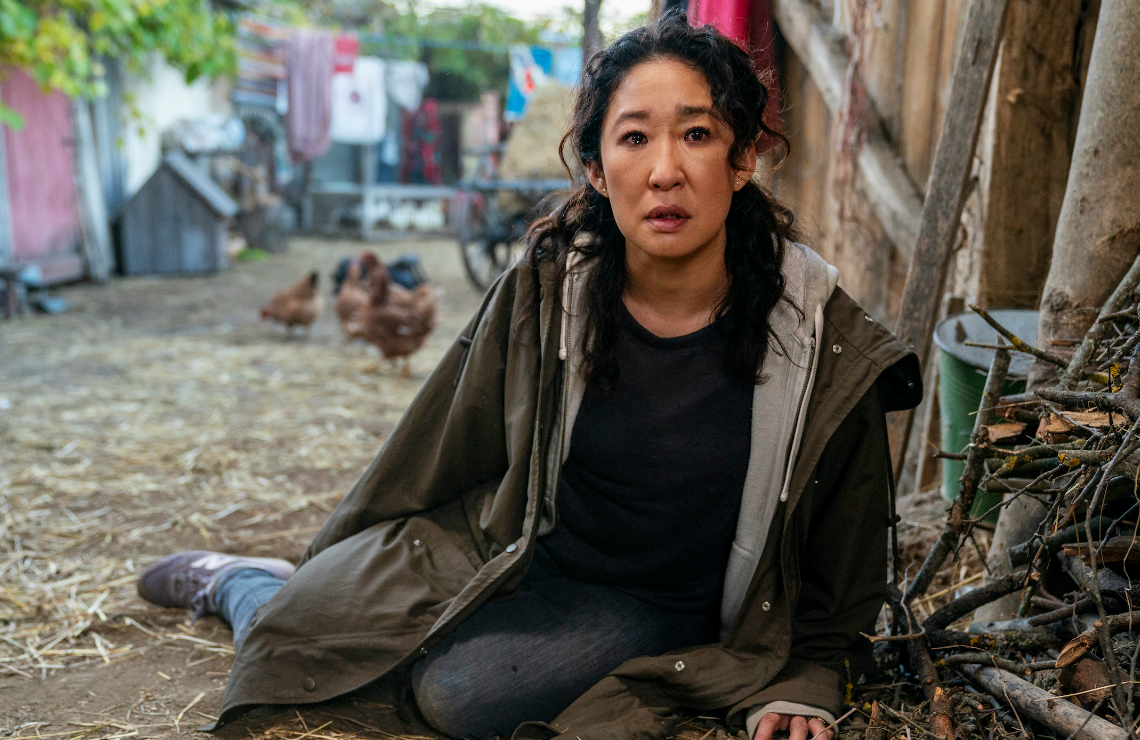 Sandra Oh in Killing Eve. (BBC America)