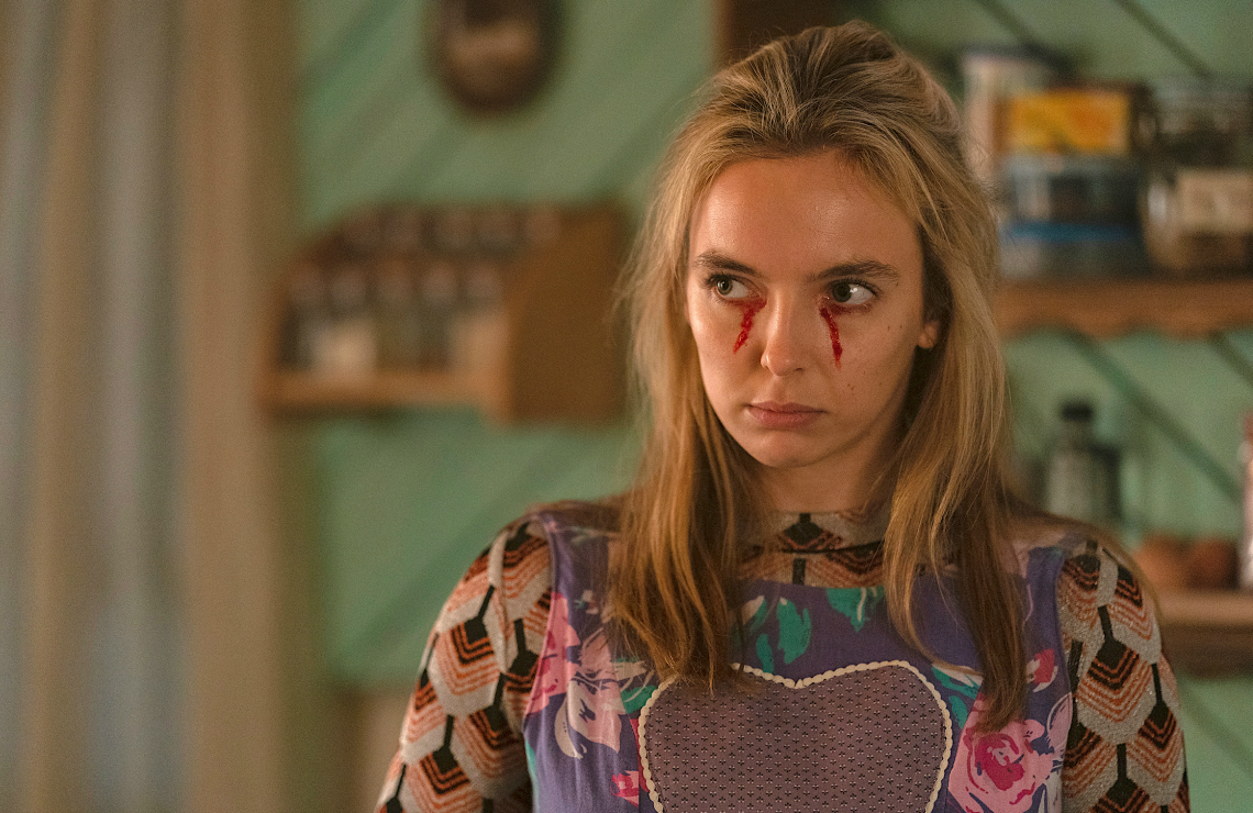 Jodie Comer in Killing Eve. (BBC America)
