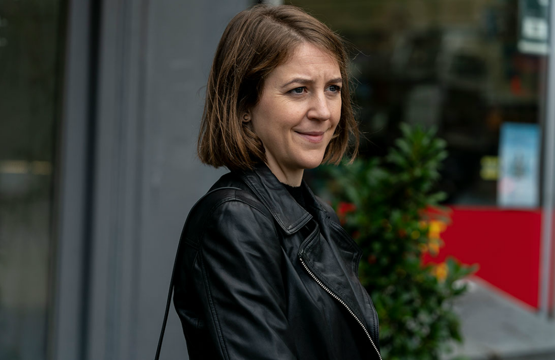 Gemma Whelan in Killing Eve. (BBC America)