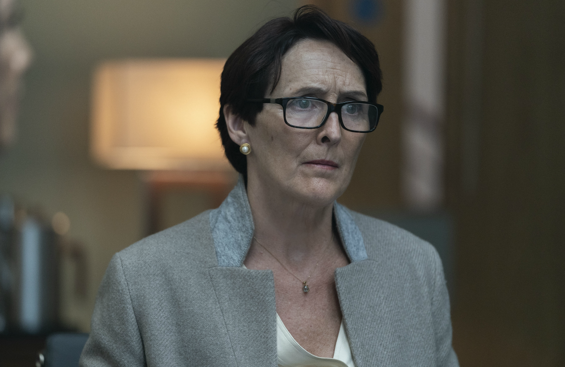 Fiona Shaw in Killing Eve. (BBC America)