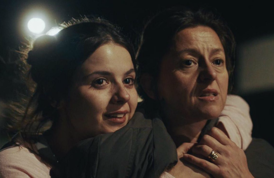 Gabrielle Creevy and Jo Hartley in In My Skin. (Hulu/BBC Three)