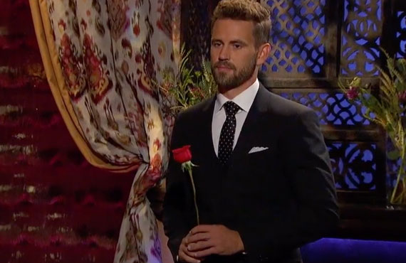 Yep, they're going there: Nick Viall on The Bachelor (ABC)
