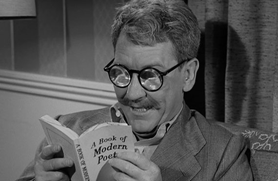 Burgess Meredith in The Twilight Zone (CBS)