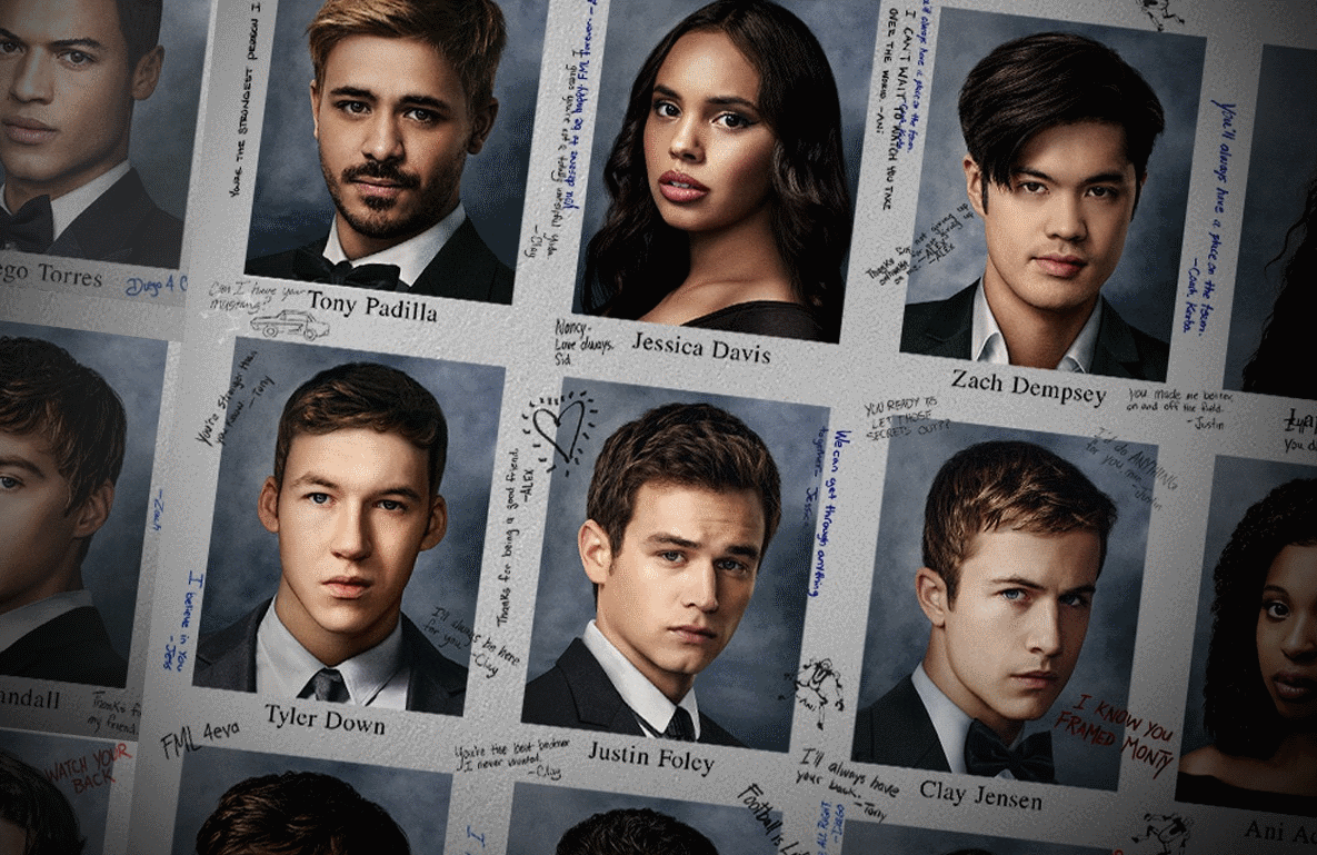 13 Reasons Why returns for its fourth and final season today. (Netflix)