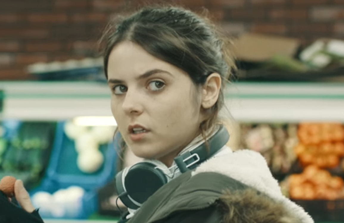 Gabrielle Creevy in In My Skin. (Hulu/BBC Three)