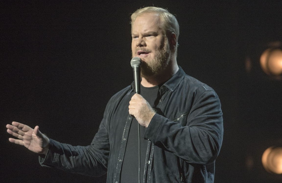 Jim Gaffigan's Noble Ape standup special airs tonight on The CW Happy Hour. (The CW)