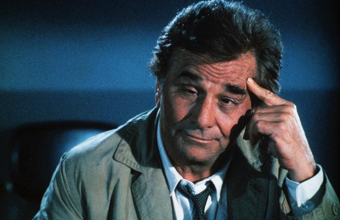 Peter Falk in Columbo. (NBC)