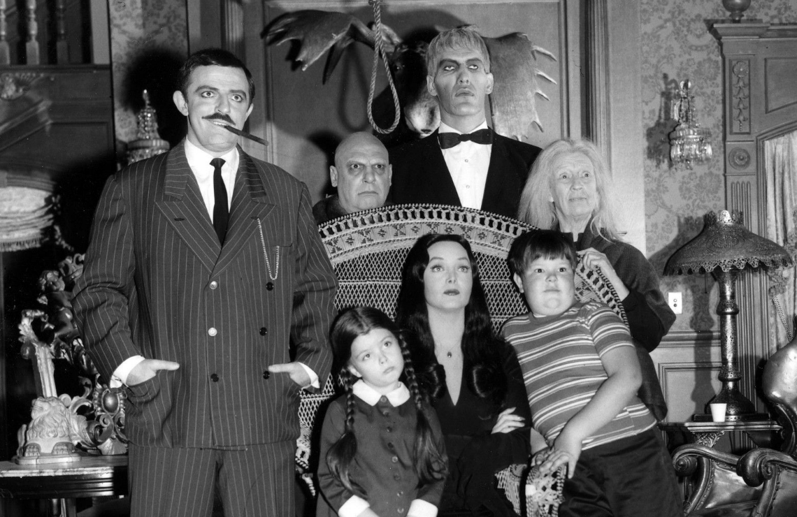 The cast of The Addams Family. (ABC)