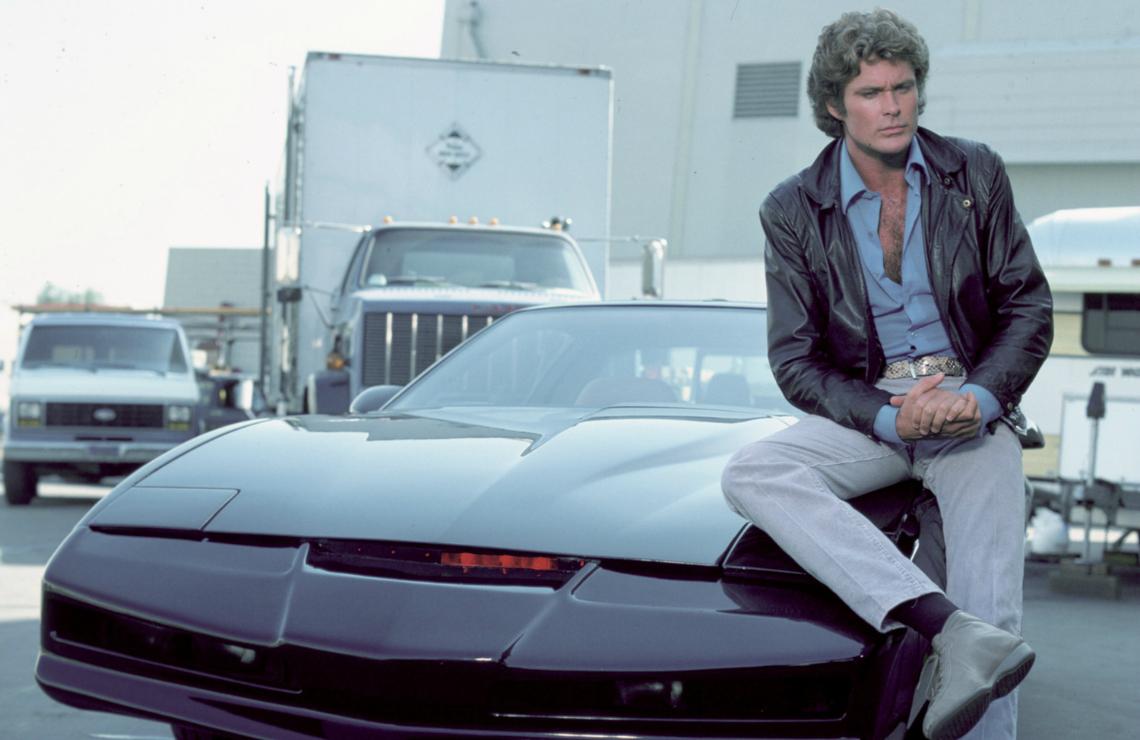 David Hasselhoff in Knight Rider. (NBC)