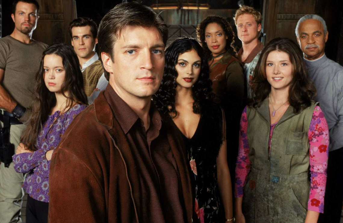 The cast of Firefly. (Fox)