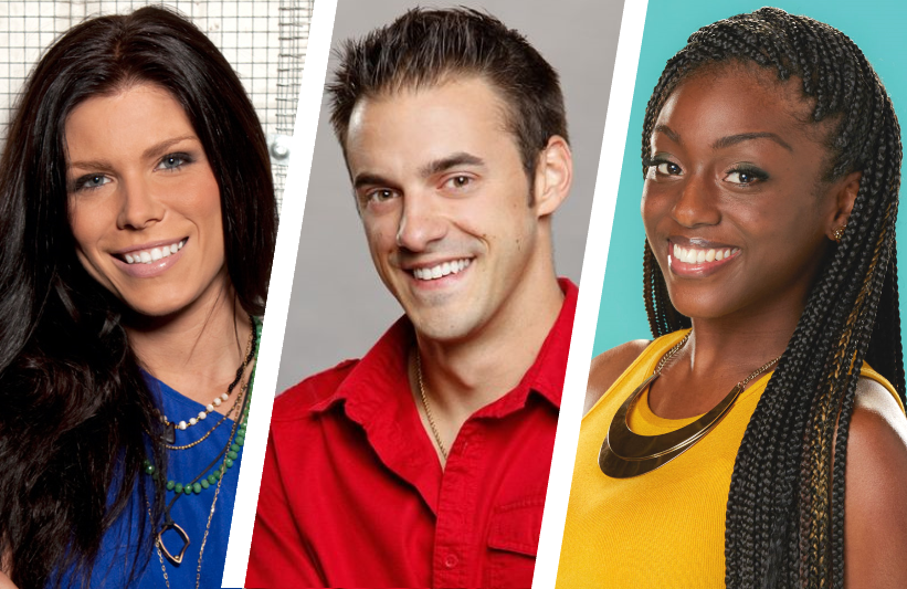 Big Brother winners Danielle Donato, Dan Gheesling and Da'Vonne Rogers. (CBS)