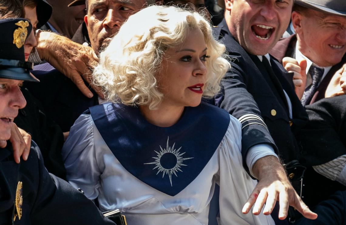 Tatiana Maslany in Perry Mason. (HBO)
